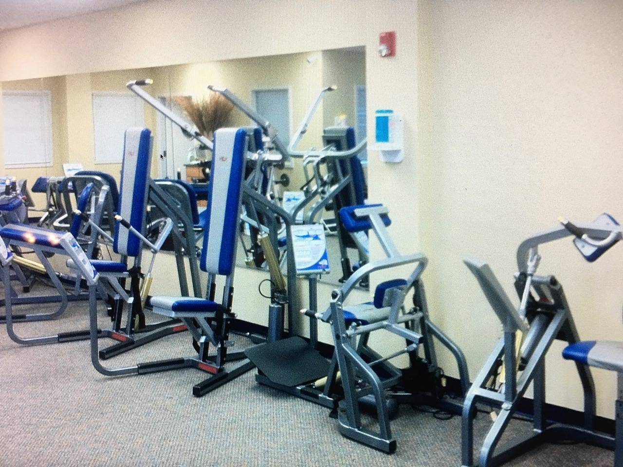 Used Keiser Strength Line